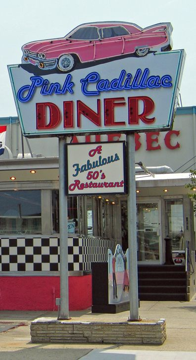 Pink Cadillac Diner....Rochester, New Hampshire....it's no Red Arrow though...