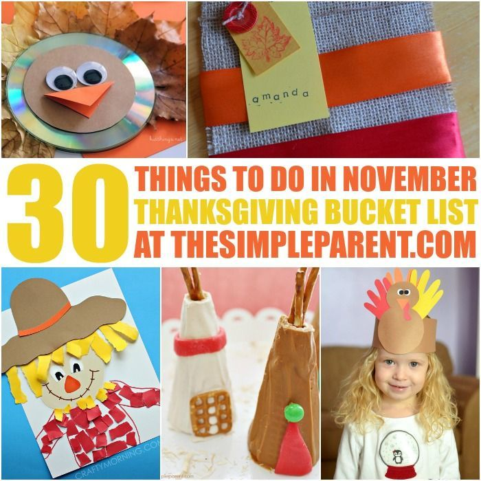 Our Kids Bucket List continues to grow this year with 30 Things to Do in November with the kids! It's a great Thanksgiving Bucket List for the whole family!
