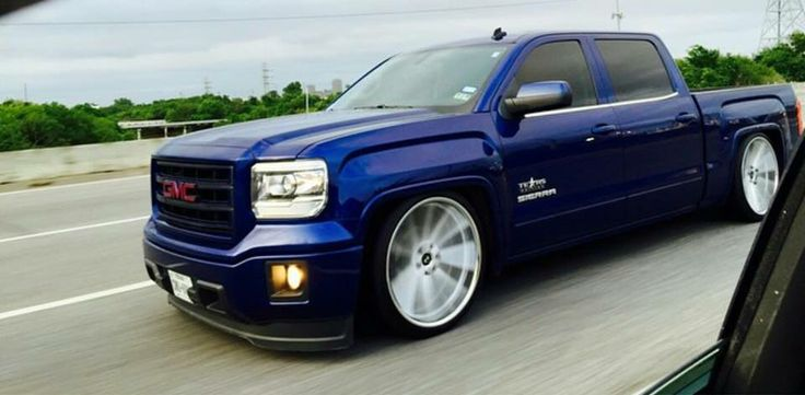 Dropped 2015 GMC Sierra   GMC'S One Hell of a Truck ...
