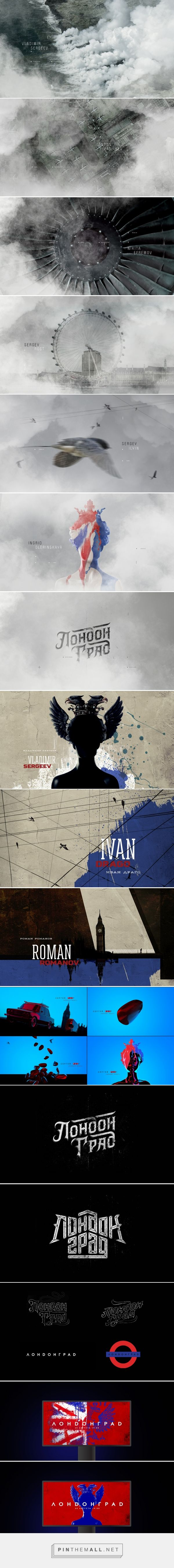 Londongrad Main Titles Concept on Behance - created via http://pinthemall.net