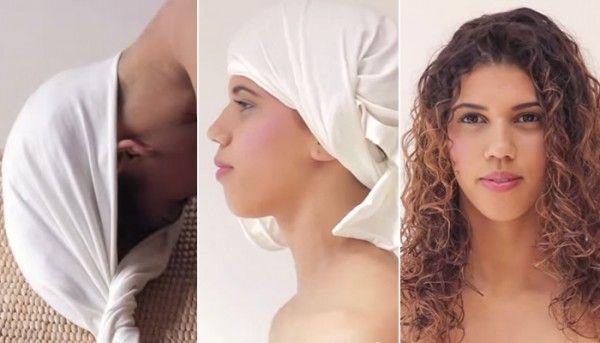 ¿Qué es el Plop? Secado natural anti encrespamiento ~ Pasos:  (1)Con el pelo húmedo aplica tu leave-in favorito /// (2)Haz Plop con una camiseta de algodón o una toalla durante 15-40min. /// (3)Retira y deja secar por completo al aire o con el difusor /// (4)Luce un cabello súper natural, definido y sin encrespamiento. ~ Diccionario de cabello natural #Plop #Plopping #Frizz #DIY #Rizado #Ondulado #Afro #CurlyGirl ~ www.SofiaBlack.com