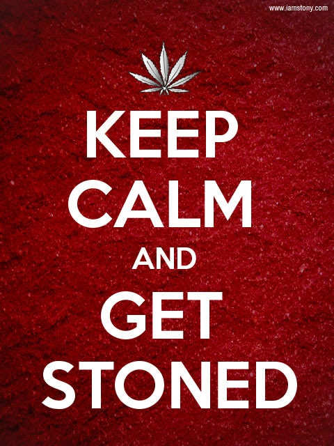 screw mondays. let's get stoned.