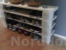 Palettenmöbel-Schuhregal aus Europalette No.1
