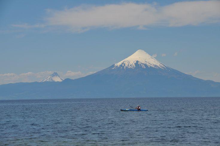 Volcano View kayak