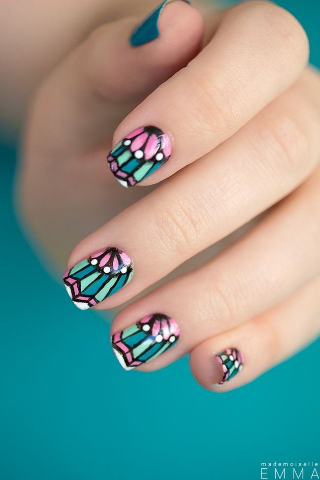 Mademoiselle Emma, nail art and tattoo inspiration.