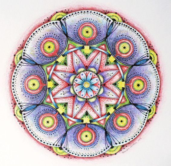 Mandala by Fransien de Vries