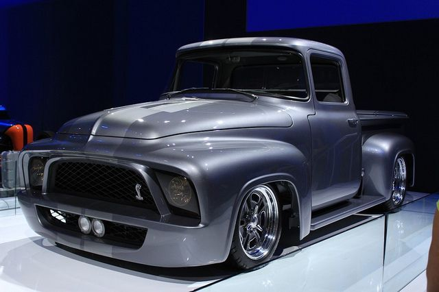 Gene Simmons Snakebit 1956 Ford F100
