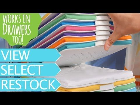 16 Slide Closet Organizer U0026 Laundry Folder Bundle U2013 ThreadStax