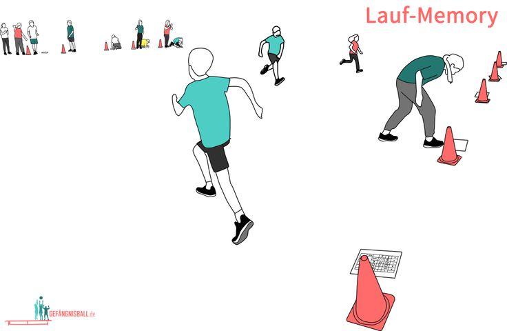 Laufmemory! Ein tolles Spiel #sportunterricht #sportlehrer #sportlehrerin
