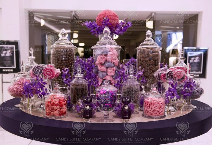 77 best images about sweets bar at wedding reception on for Candy bar for weddings receptions