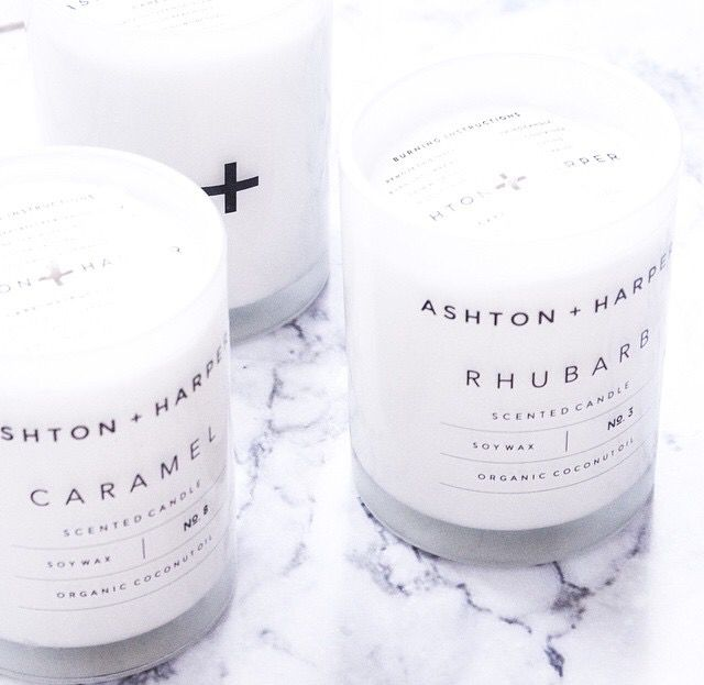 ashton + harper candles. Smell as good as they look. Shop local, Australian made.