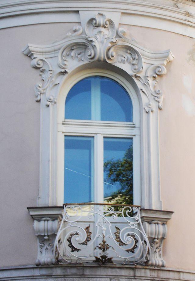 Rococo stucco work around window - Google Search
