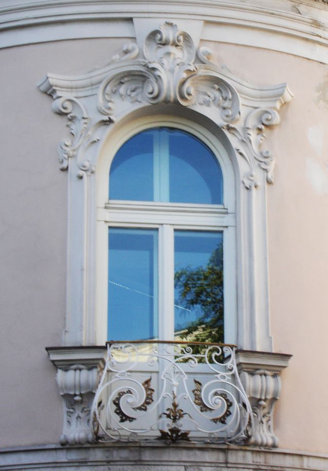 Rococo Stucco Work Around Window Google Search Candide