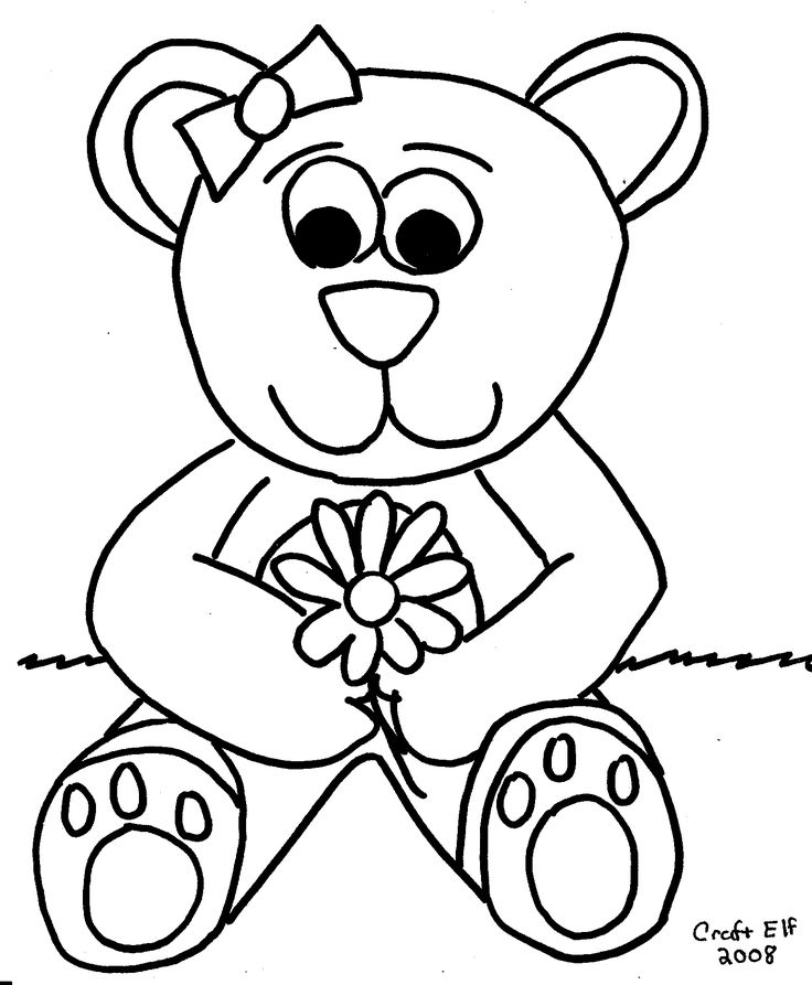 great kids activity with crayons color a teddy bear