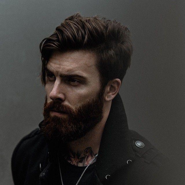 Mens Hairstyle And Beard 2600 Best Beards Amen Images On Pinterest  Beards Beard Styles