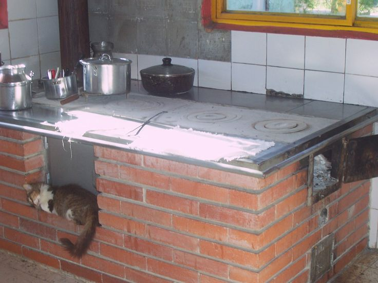Cocina de leña en Quimbaya. Quindío, Colombia
