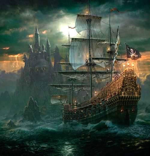 Pirates of the burning sea concept art - photo#10