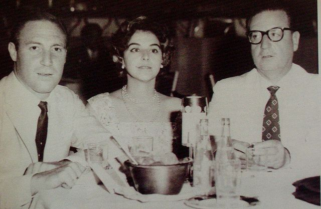 Isabel and Orlando Letelier with Salvador Allende 1959