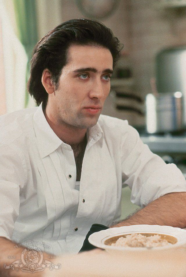 Nicolas Cage in Moonstruck