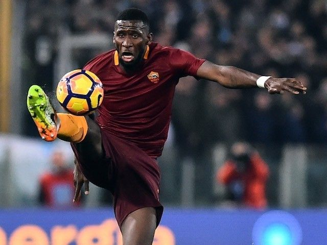 Manchester City close to finalising £30m deal for Antonio Rudiger?