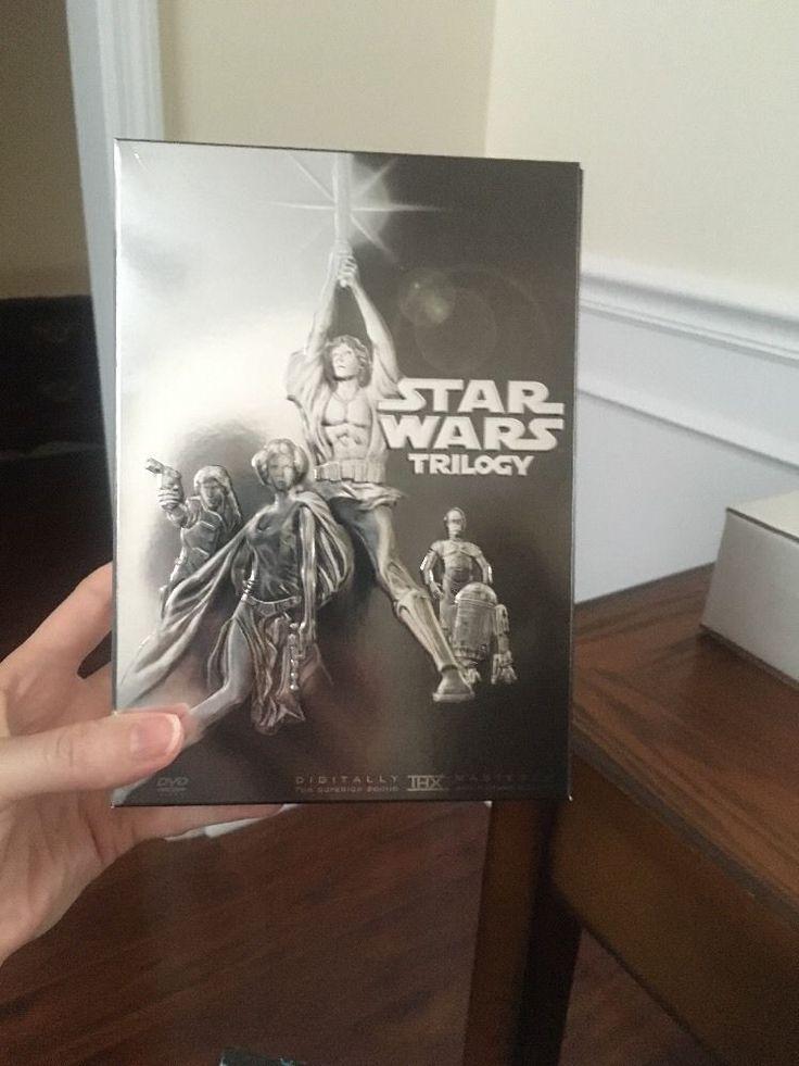 Star Wars Trilogy (DVD, 2004, 4-Disc Set, Widescreen)