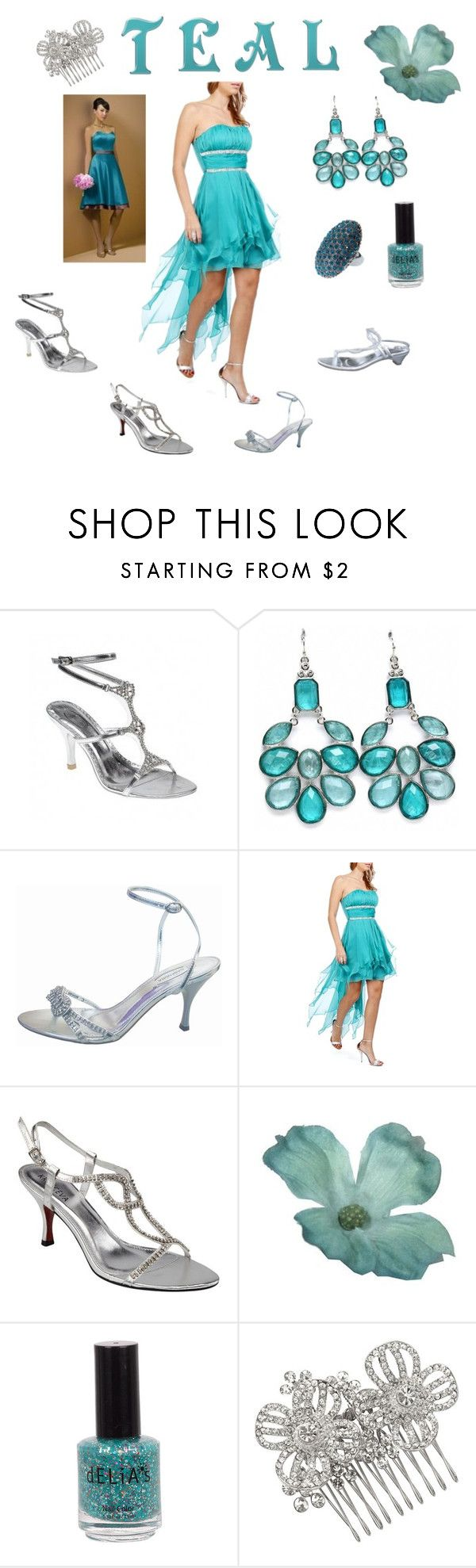 """""""Teal & Silver Wedding Shoes"""" by sole-divas ❤ liked on Polyvore featuring Fantasy Jewelry Box, Matthew Williamson, silver wedding shoes, silver evenings hoes, party shoes, weddings, evening shoes, wedding shoes, wedding and silver evening shoes"""