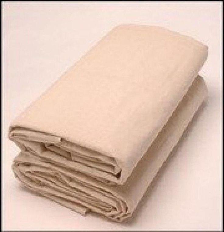 drop cloth art camvas paint 9x12 spill protection cover heavy duty reusable new