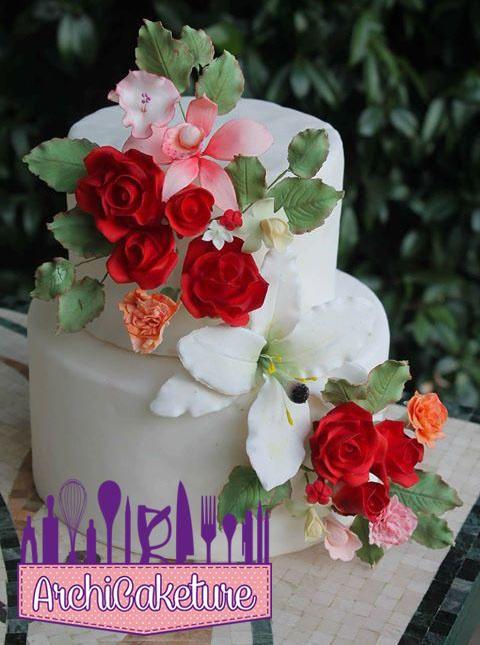 Flowers Cake - Cake by Archicaketure_Italia