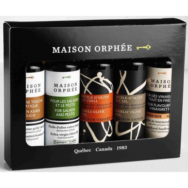 Maison Orphée Oils gift box - Coffret d'huiles assorties Maison Orphée