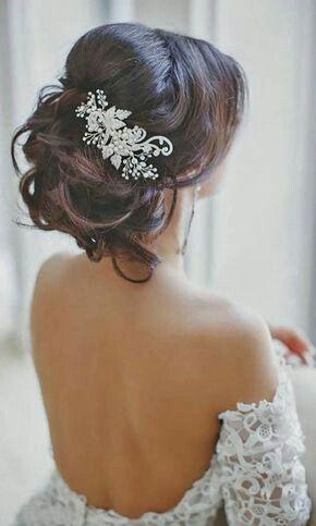accessoires cheveux coiffure mariage chignon mariée bohème romantique retro, BIJOUX MARIAGE (21)