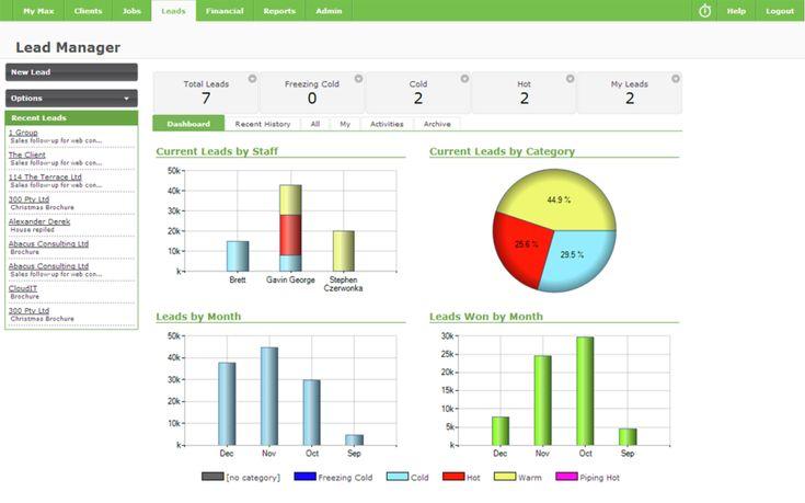 Workflowmax screenshot # 9