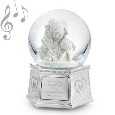 1551 best snow globes collection images on pinterest snow globes mothers embrace musical snow globe personalized snowglobe snow globe gift negle Choice Image