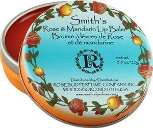 Rosebud Rose & Mandarin Lip Balm fra BliVakker. Om denne nettbutikken: http://nettbutikknytt.no/blivakker-no/
