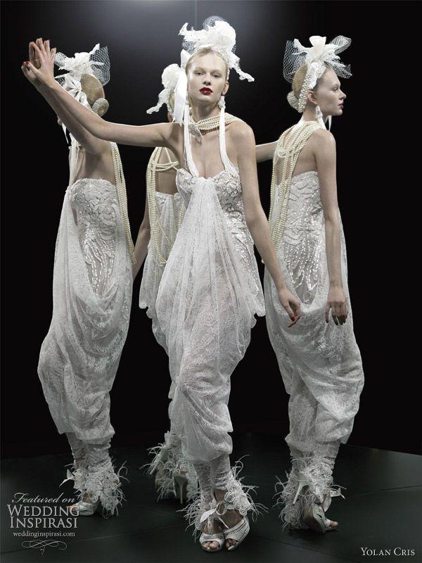 YolanCris Wedding Dresses 2012 — Le Tre Grazie Bridal Collection | Wedding Inspirasi