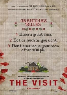 'The Visit' (2015) ~ Directed by M. Night Shyamalan...that's all I need to want to see it. Although, I do agree the trailer(s) were not very flattering, but his movies rarely disappoint!