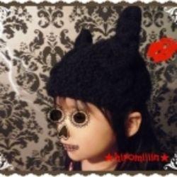 猫耳ニット帽子 子供用❤ の作り方 編み物 編み物・手芸・ソーイング アトリエ