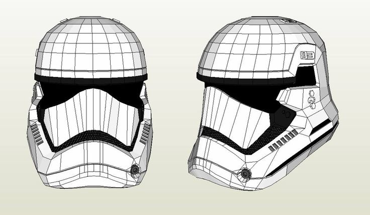 Free starwars the force awakens pepakura files