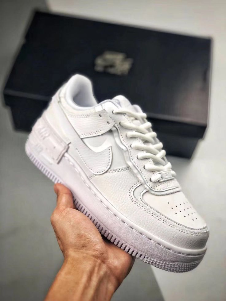 Nike Wmns Air Force 1 Shadow 'Triple White' CI0919 100 in