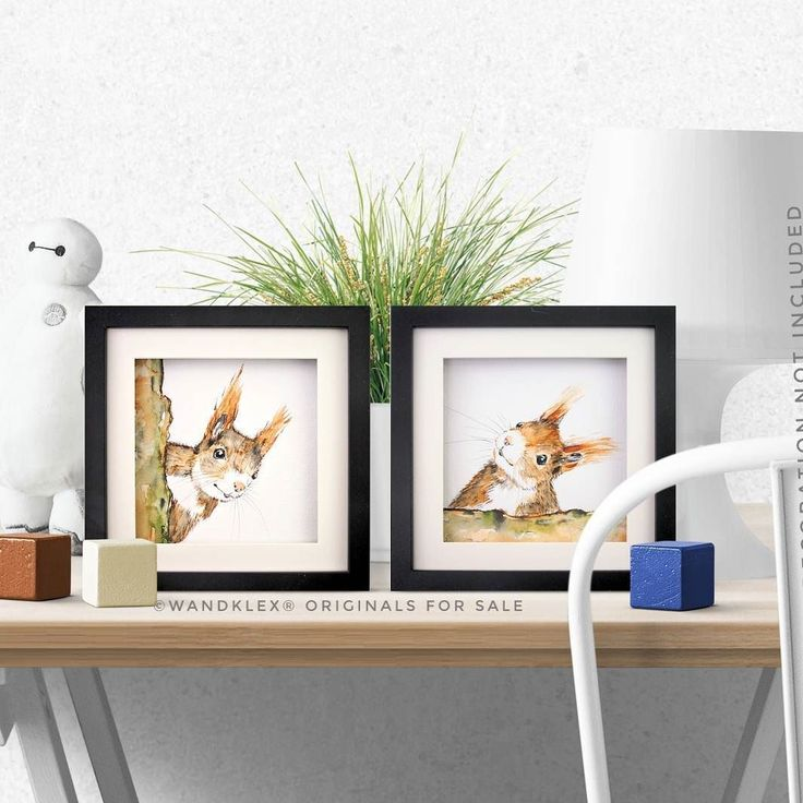 These two cuties live in my onlineshops wandklex.etsy.com and wandklex.dawanda.com now and are waiting for a happy home! Children welcome! . Painted with schmincke Horadam water color on@hahnemuehle_global Britannia 300g rough paper painting and product photo  @wandklex Kunstatelier  #wandklex #malerei #handgemalt #handpainted #watercolor #watercolour #aquarell #tierportrait #eichhörnchen #squirrel #squirrelsofig #squirrellove #etsy #etsyde #dawanda #dawandade #etsyseller #etsyfinds…