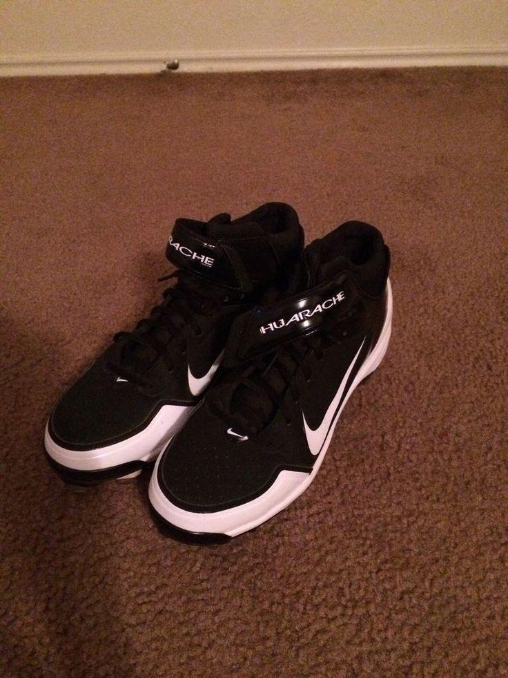 Nike Huarache Men 039 s Size 10 Metal Baseball Cleats | eBay