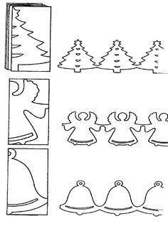 Karácsonyi sablonok – Anya játsszunk!