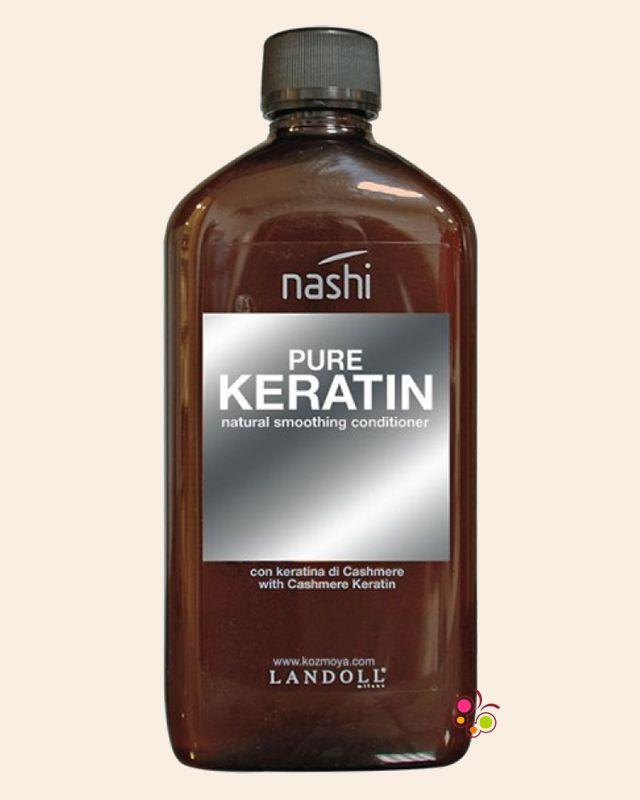 NASHI Pure Keratin Asi ve Kabarık Saçlar İçin Düzleştirici Krem 500 ml