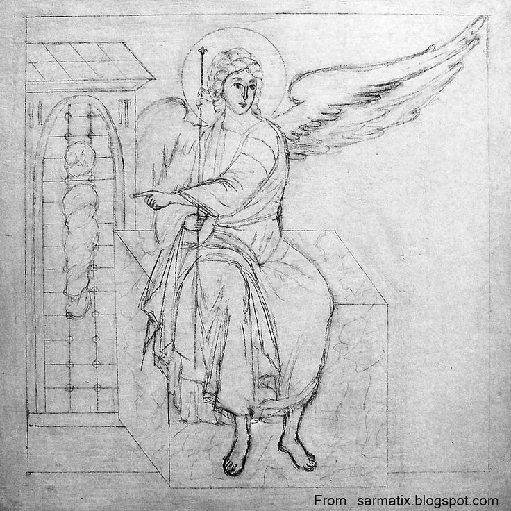 Resurrection - pencil sketch