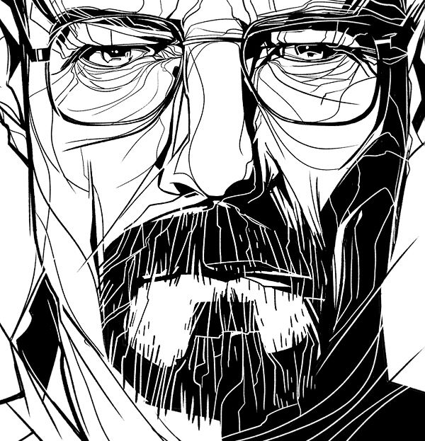 Breaking Bad Fan Art / Albluequerque on Behance