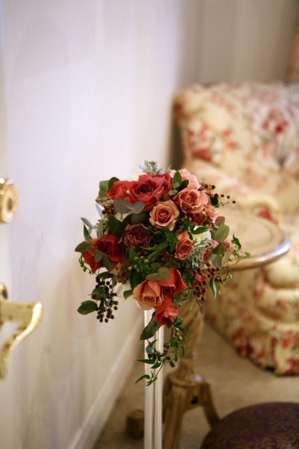 新郎新婦様からのメール ブラックティとジュリア エメヴィヴェール様へ : 一会 ウエディングの花