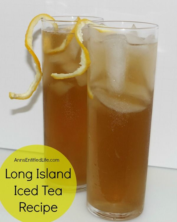 Long island iced tea recipe an extremely potent but very for Iced tea cocktail recipes