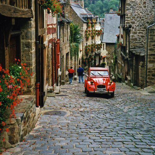 Dinan, France, possible stop after Mont Saint Michel