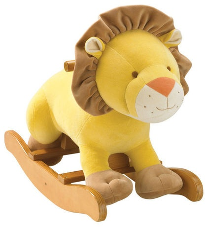 Lion Rocker & More for a Safari Nursery
