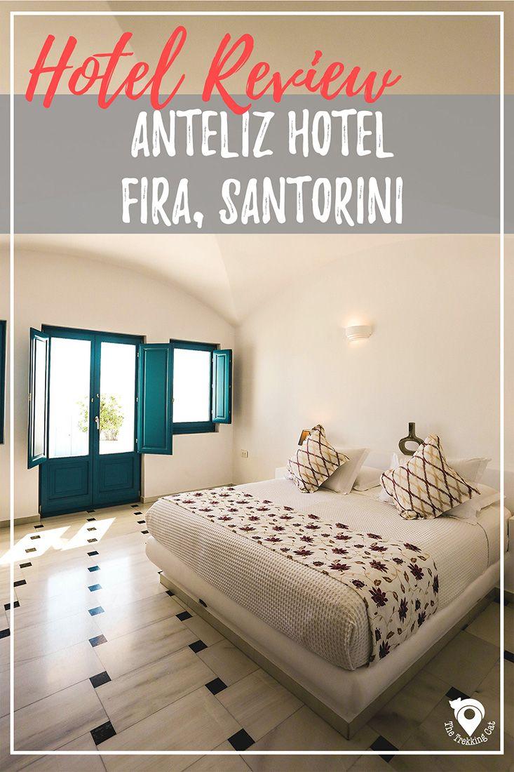 Hotel Review: Anteliz Suites in Fira | Santorini Travel | Greece | Europe | Luxury Travel |