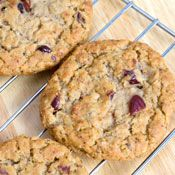 Cranberry and Oatmeal Spice Cookies